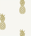 Metallic Pineapple- Ivory