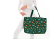 Watercolor Christmas Tote