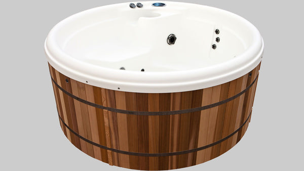 Sport Premium Hot Tub Package - wooden hot tubs