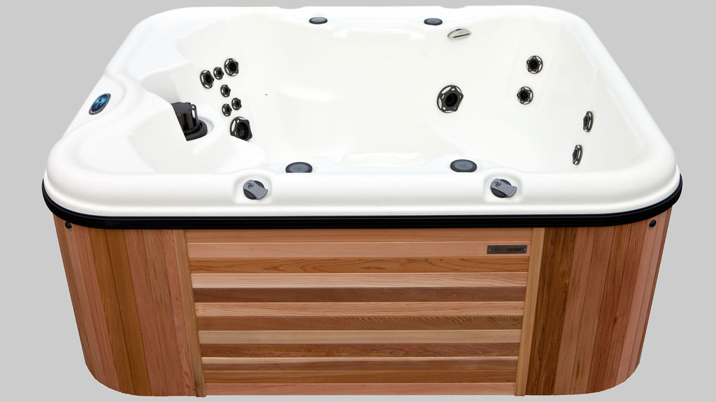 Sport Square Base Hot Tub Package - wooden hot tubs