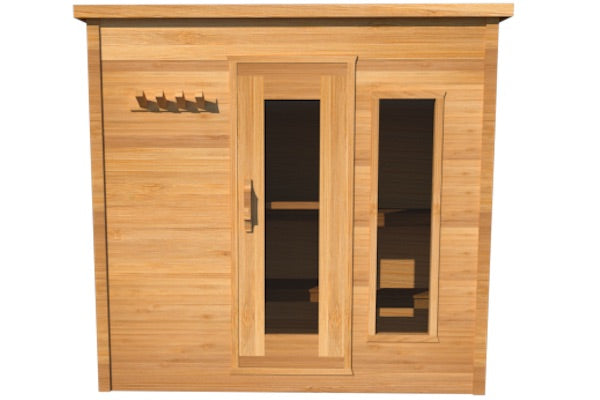 Urban Cedar Wood Premium Indoor Sauna (7x5FT)