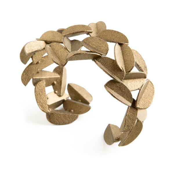 Leaves Bracelet (Gold Painted)