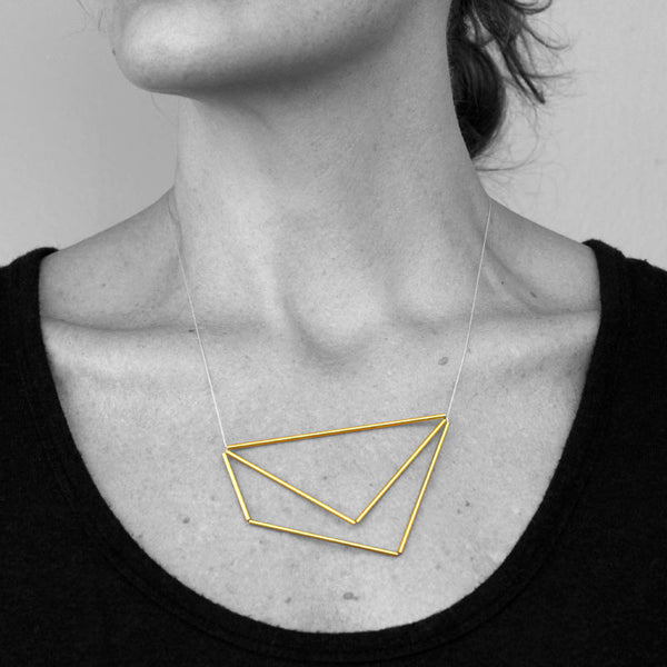 Quadrilateral Triangle Necklace