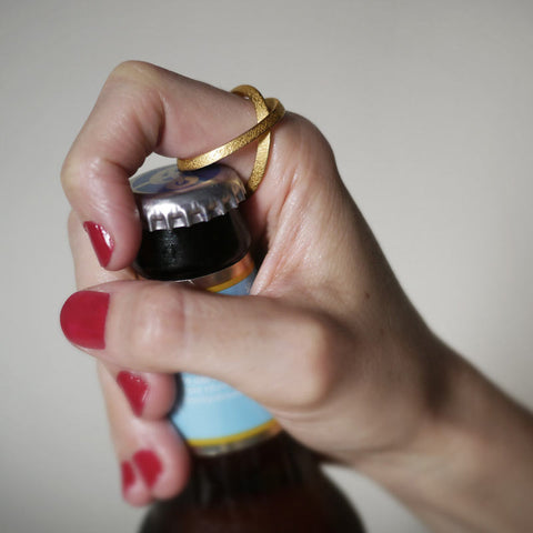 Bottle Opening Ring