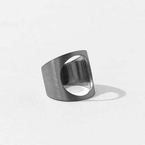 Open Shield Ring