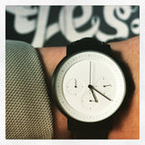 "Projects Watches White Chronograph Watch ""Kiura"""