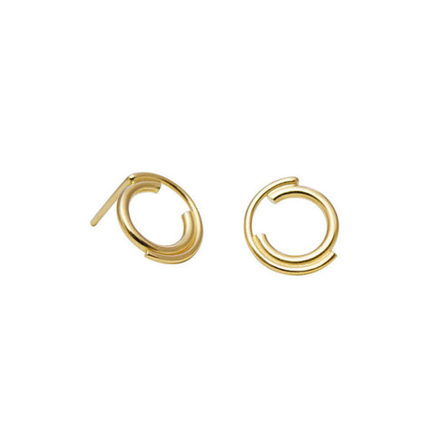 Gold Filled Stud Earrings N°9