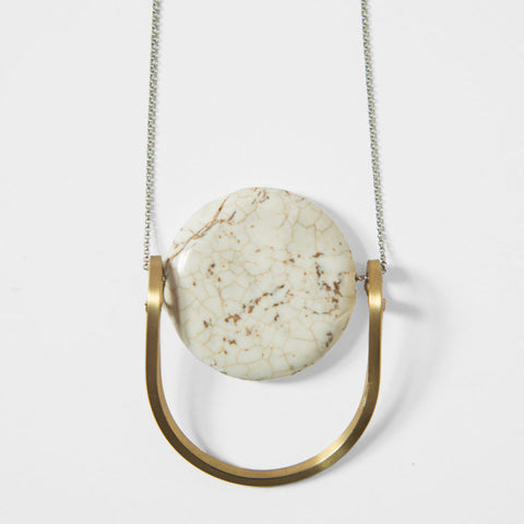 White Jasper Necklace