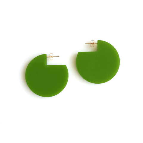 Cir Cutout Earrings