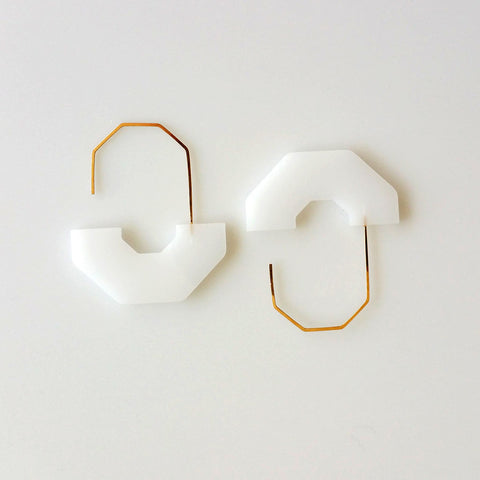 Hex Arch Earrings