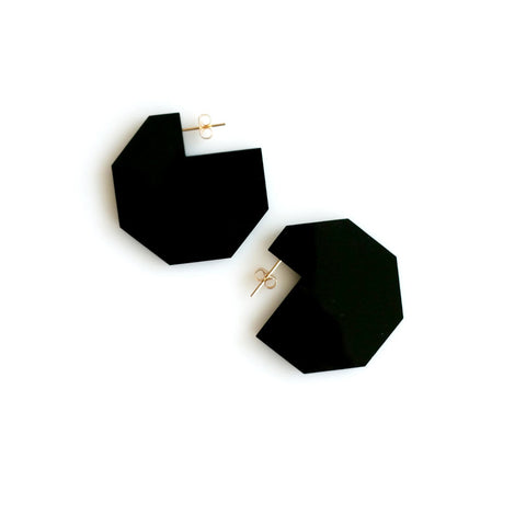 Hex Cutout Earrings