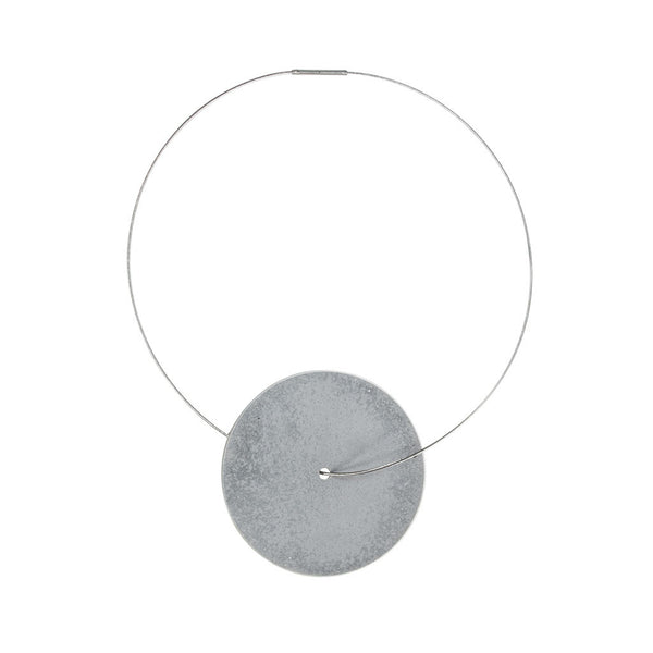 Large Discus Necklace