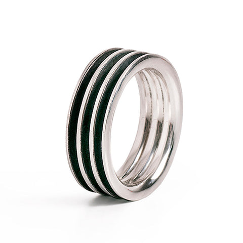 Three Line Band Ring