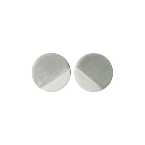 Notch Circle Earrings
