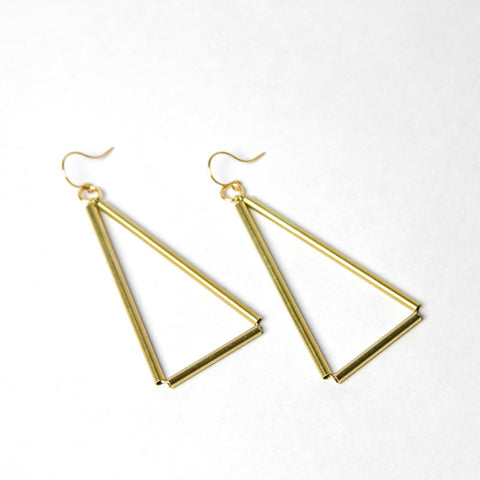 Triangle Himmeli Earrings