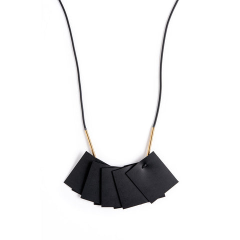 Plisse Necklace - Gold