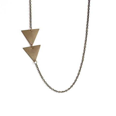 Asymmetrical Arrow Necklace