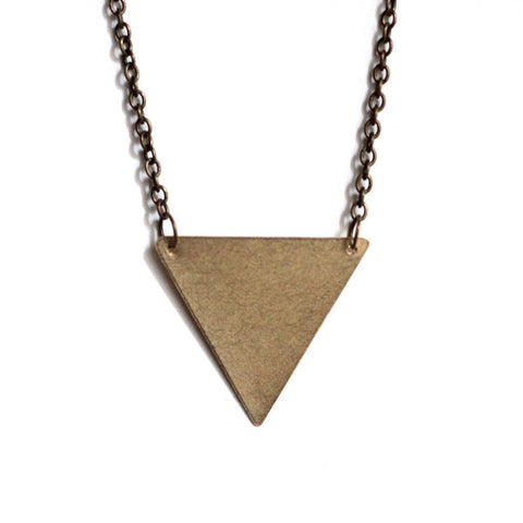 Inverted Triangle Necklace