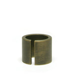 Heavyweight Cut Double Wide Ring