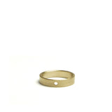 Lightweight Solid Thin Ring