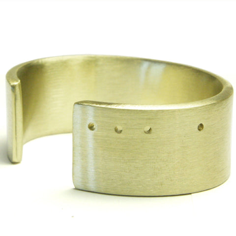 Wide Bronze Cuff (Women)