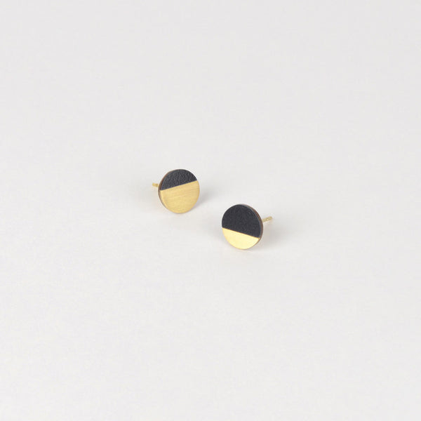 Form Circle Earrings