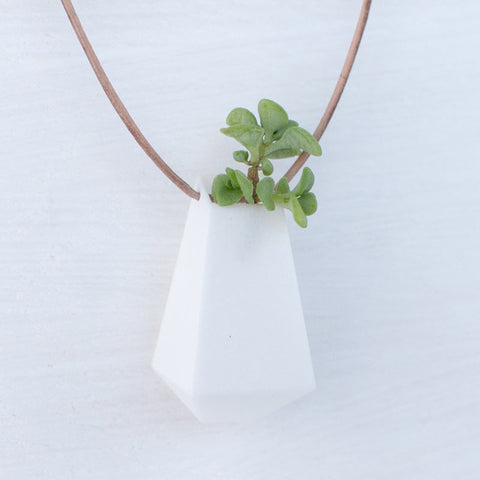 Wearable Planter Necklace #3