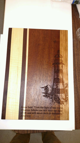 Lighthouse Cuttingboard