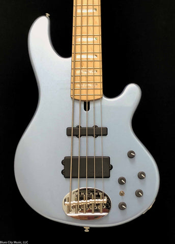 Lakland Skyline Guitars - 55-02 Custom - Ice Blue Metallic