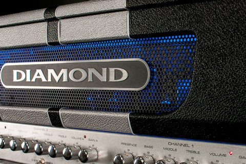 Diamond 327SD Black/Silver Stripes