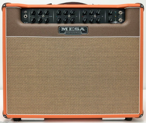 "Mesa Boogie Triple Crown 50 - 1x12"" Combo - Custom Shop - Orange/Cream/Tan"