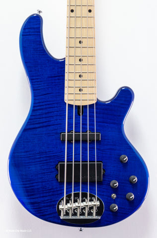 Lakland Guitars Skyline - 5502 - Deluxe - Trans Blue - Maple