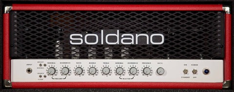 Soldano Super Lead Overdrive (SLO-100) with 1/2 Power Switch