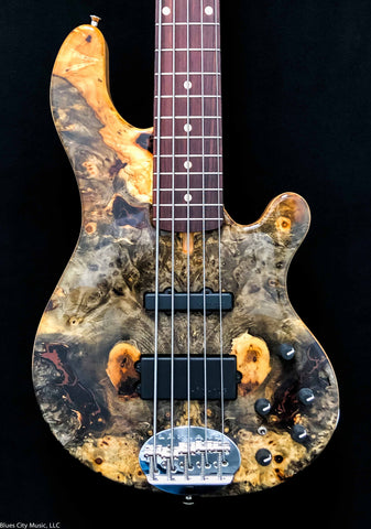 Lakland USA Custom Shop 5594 Deluxe - Burl Top