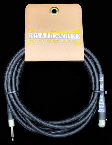 Rattlesnake Cable Company - 20' Standard - Black - Mixed Plugs