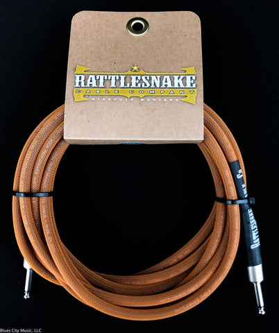 Rattlesnake Cable Company - 15' Standard - Copper - Straight Plugs