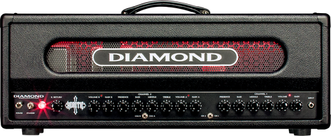 Copy of Diamond Amplification Heretic 100 Watt USA Made Tube Amplifier - 5881