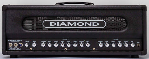 Diamond Amplification Decada 100 Watt USA Made Tube Amplifier