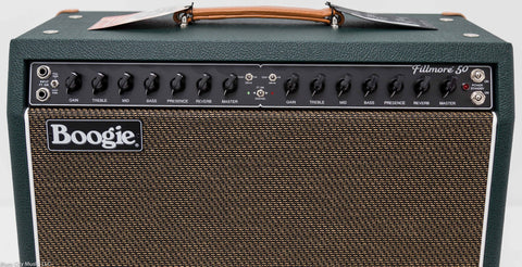 "Mesa Boogie Fillmore 50 - 1x12"" Combo - Custom Shop - Emerald Green / Gold"