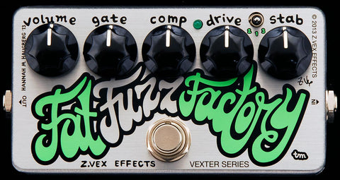 ZVEX Effects Vexter Fat Fuzz Factory