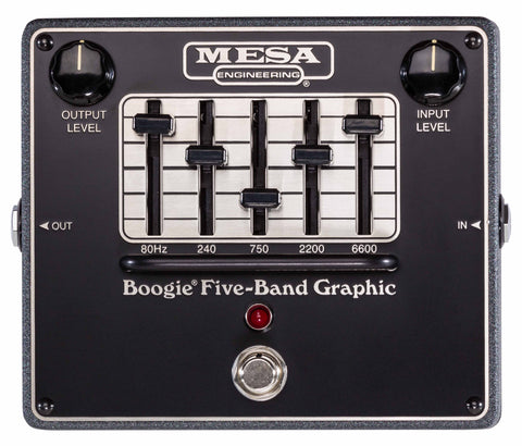 Mesa Boogie - 5 Band Graphic EQ