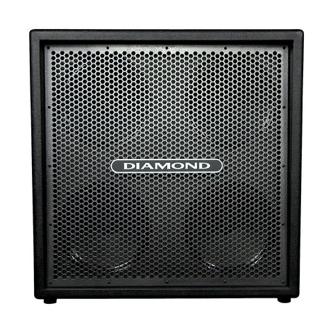 "Diamond Amplification USA 4x12"" cabinet silver vein grille"