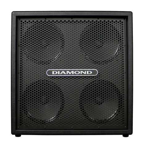 "Diamond Amplification USA 4x12"" cabinet black metal grille"