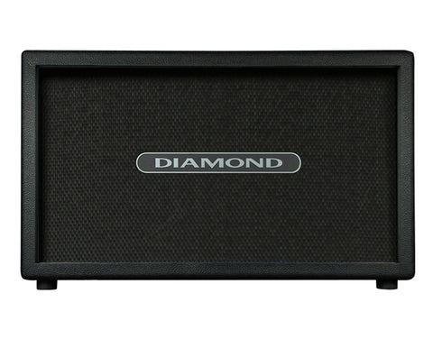 Diamond Amplification USA Custom 2X12 Cabinet - Black Metal Grille