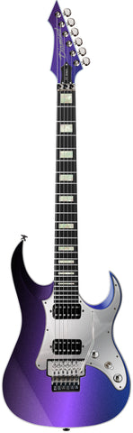 Diamond Guitars Halcyon ST-FR - Electric Guitar - Galaxy Purple