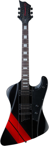 Diamond Guitars Hailfire ST - Black and Red