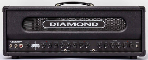 Diamond Amplification Heretic 100 Watt USA Made Tube Amplifier - 5881