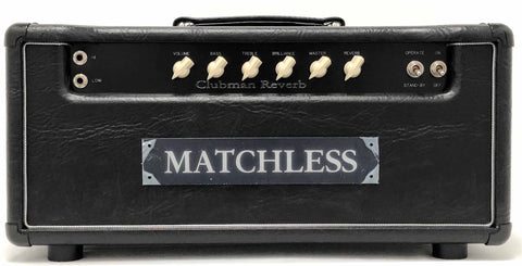 Matchess Clubman 35 - (35 Watt Head with Reverb)
