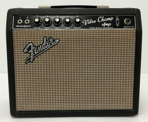 1965 pre CBS/Transition Fender Black Face Vibro Champ