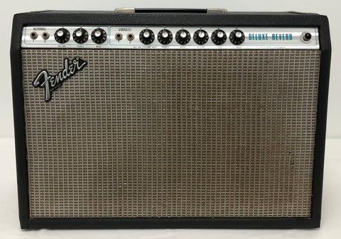 "1978 Fender Silver Face Deluxe Reverb 1x12"" combo"